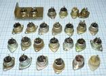 Гнездо на 3 pin (СССР), 25 штук., фото №2