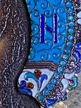 Икона Господь Вседержитель. В серебре и эмалях, фото №6