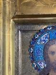 Икона Господь Вседержитель. В серебре и эмалях, фото №9