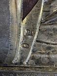 Икона Господь Вседержитель. В серебре и эмалях, фото №12