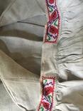Сорочка старинная ручной работы, фото №7