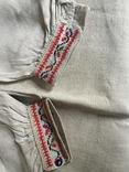 Сорочка старинная ручной работы, фото №11