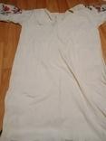 Калінкорова сорочка вишита хрестиком, фото №4