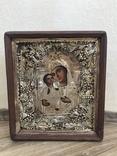 Венчальная пара в киотах / икона, фото №5