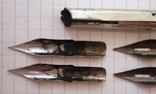 Ручка-держатель из иглы морского ежа + 2 пера №11 + 2 пера № 12 + 2 пера № 23, фото №7