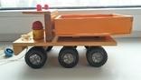 Деревянная грузовая машинка для детей, из СССР., фото №3