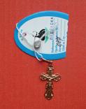 Крестик,вес-0,87грамм, фото №2