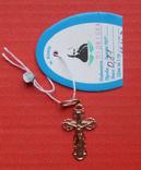 Крестик,вес-0,81грамм, фото №2