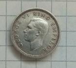 3 пенса 1940г Нова Зеландия серебро, фото №3