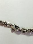 Крест и цепочка серебро 925 проба, (45гр.), фото №10