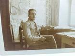 Фото Старшина Австрийской армии на фоне карты боевых действий, фото №3