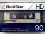 """ Аудиокассета "" Goldstar HD 90, фото №8"