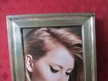 Серебро рамка для фото. Италия стиль Versace.16 см. х 12., фото №6