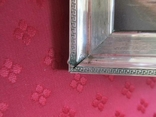 Серебро рамка для фото. Италия стиль Versace.16 см. х 12., фото №10