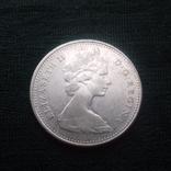 10 центів 1966 р. Канада, фото №2