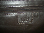 Сумка кожаная Rowallan. на ремешке, фото №5