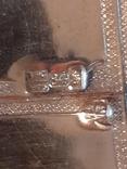 Икона Максим и Миланья, огненное золочение 36 х 31 см. 84 проба,, фото №11