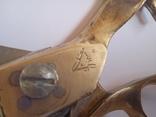 Винтажные ножницы для кройки,клеймо, фото №3