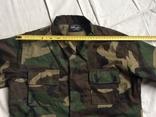 Детская камуфляжная куртка Джунгли, б/у, фото №9