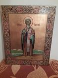 Икона Св.Яков размером 27 на 32 см., фото №4