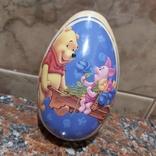 """Металлическое яйцо """"Винни Пух и Пятачок"""", фото №2"""