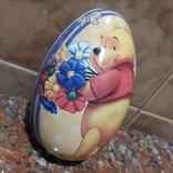 """Металлическое яйцо """"Винни Пух и Пятачок"""", фото №3"""