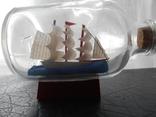 Парусник в бутылке, фото №2
