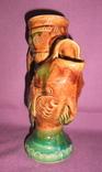 Кувшин для вина - куманец РЫБА. Поливная глазурь керамика из СССР., фото №9