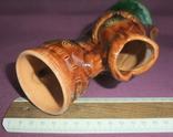 Кувшин для вина - куманец РЫБА. Поливная глазурь керамика из СССР., фото №13