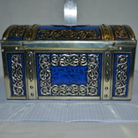 Канфеты Красный Октябрь большая коробка сундук, фото №4