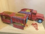 Corgi major toys International 6*6 track + Corgi toys Circus animal cage, фото №2