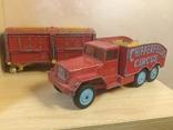 Corgi major toys International 6*6 track + Corgi toys Circus animal cage, фото №4