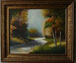 "Картина маслом""Осень"", фото №2"