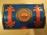 Коробка сундук из под конфет фабрики Красный Октябрь ,СССР, фото №2