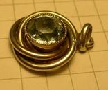 Кулон ручной работы с камнем 830 проба, фото №6