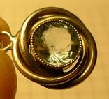 Кулон ручной работы с камнем 830 проба, фото №8