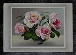 Старинная открытка: Розы. Германия., фото №2