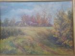 """""""Осень на хуторе"""". Н.Рыбкин. 1986г, фото №5"""