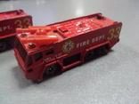 Машинка машина пожарная лот 2 шт, фото №5