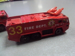 Машинка машина пожарная лот 2 шт, фото №9