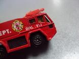 Машинка машина пожарная лот 2 шт, фото №11