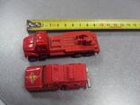 Машинка машина пожарная лот 2 шт, фото №3