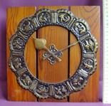 Часы МАЯК - гороскоп / знаки зодиака настенные. Сердобский часовой завод., фото №2