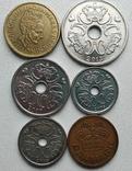Монеты Дании. 6 шт. в лоте. 19.5 крон (по курсу), фото №3
