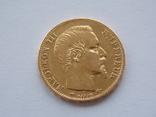 20 франков 1856 года, фото №2
