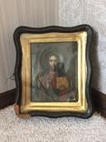 Икона Господь Вседержитель . Размер без киота 17.5 х 14 см, фото №2