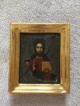 Икона Господь Вседержитель . Размер без киота 17.5 х 14 см, фото №9