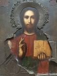 Икона Господь Вседержитель . Размер без киота 17.5 х 14 см, фото №12