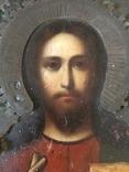 Икона Господь Вседержитель . Размер без киота 17.5 х 14 см, фото №13