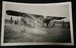 Фото солдаты Вермахта рядом с Немецким самолетом Люфтваффе., фото №2